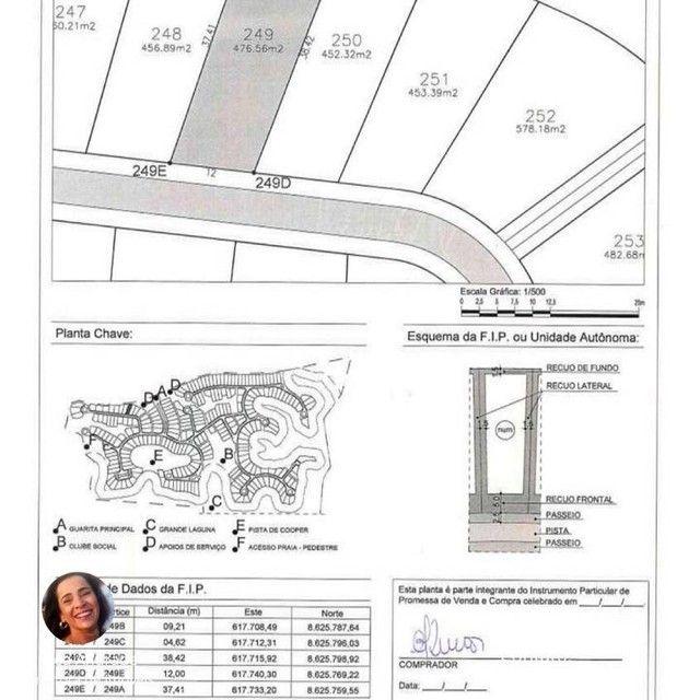 Lote/Terreno para venda com 476m² em Reserva Sauípe - Costa do Sauipe - Foto 18