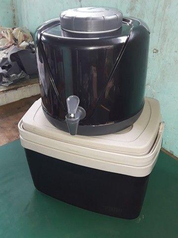 Caixa térmica e botijão térmico  - Foto 2