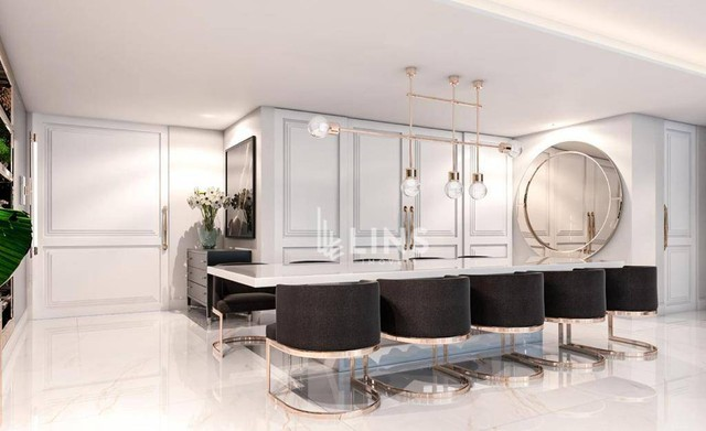 Apartamento com 3 suítes com 224 m², à venda por R$ 2.250.000 - Altiplano - João Pessoa/PB