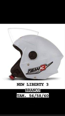 Capacete New liberty 3 - Foto 2