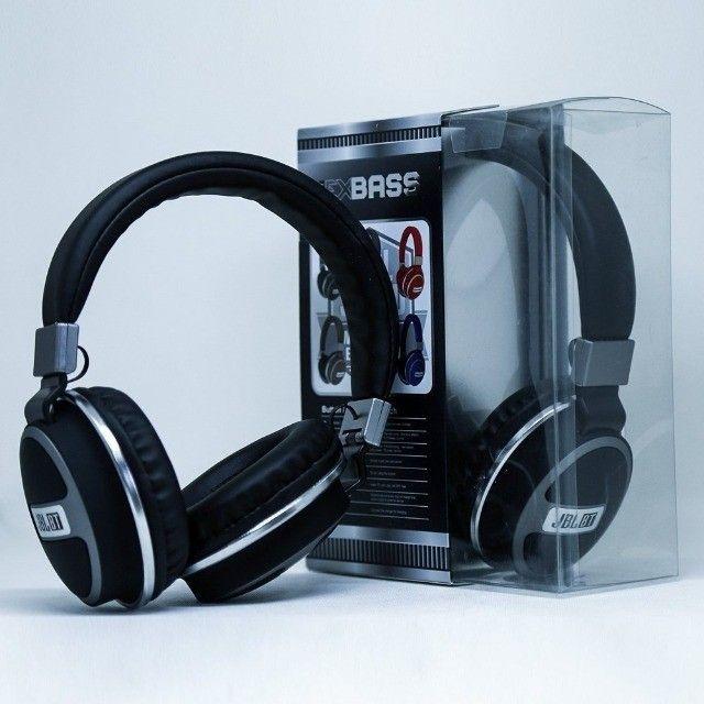 Fone Tipo JBL Studio Bluetooth Mp3 Rádio Fm 560BT Stereo Potente - Foto 3