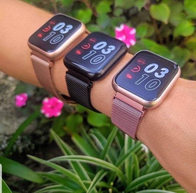 P80 - Relógio Inteligente - Foto 2