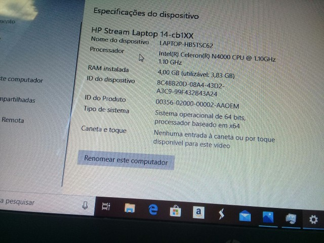 Laptop HP stream - Foto 2
