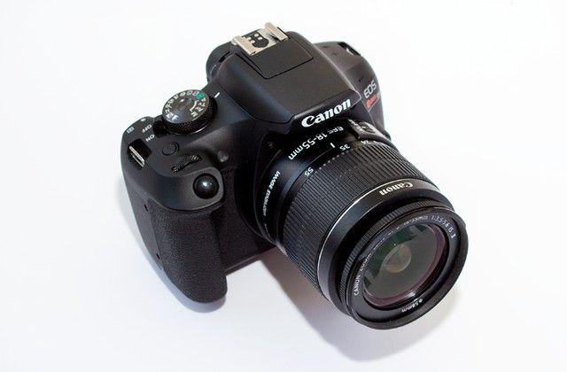Canon Eos Rebel T7 com lente 18-55mm Is Ii 2500 Cliques - Foto 5