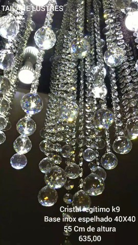 Lustre de Cristal legítimo - Foto 4