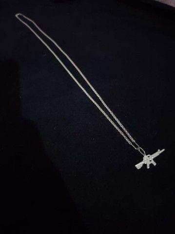 Cordinha de prata - Foto 2
