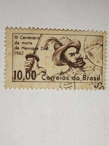 Coleção de selos antigos - Foto 3