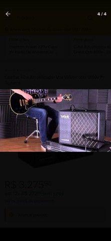 Combo 40w Amplificador Vox Valvetronix Vt40x P/ Guitarra - Foto 4