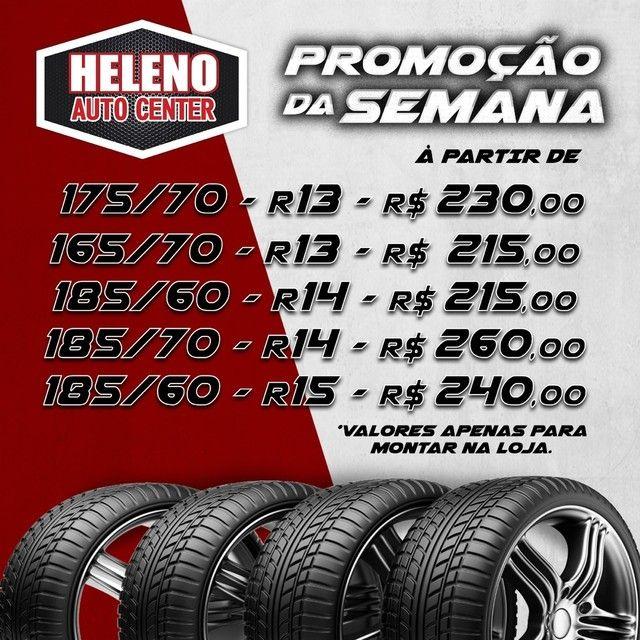 Super Oferta de Pneus Novos a partir de R$215,00 Montado e Alinhado!!! - Foto 2