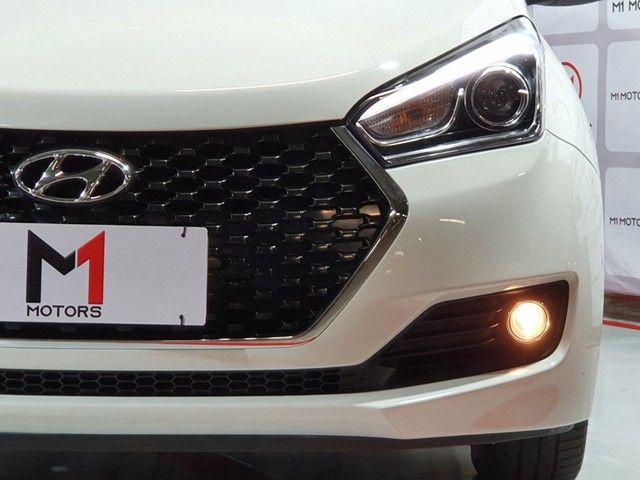HYUNDAI HB20S PREMIUM 1.6 FLEX 4P AUTOMÁTICO 6M - 2019 - BRANCO - Foto 8