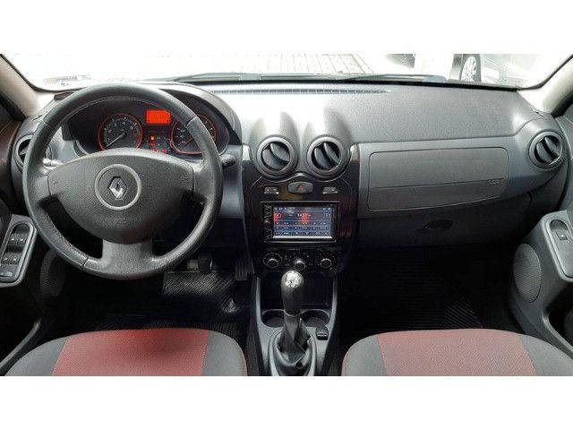Renault Sandero (2012) lindo imperdível completo - Foto 13
