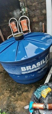 Vendo caixa d'água 500lt - Foto 2