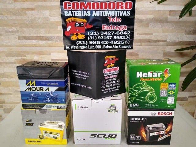 Imperdvell baterias a preço de fabrica 5,6,7AH fan,cg,xre,factor,fazer,biz,pcx,ybr,lead. - Foto 10