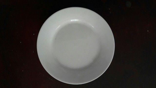 Talheres jantar e sobremesa, prato sobremesa, guardanapos tecido - Foto 5