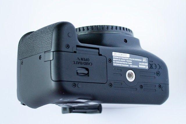 Canon Eos Rebel T7 com lente 18-55mm Is Ii 2500 Cliques - Foto 6