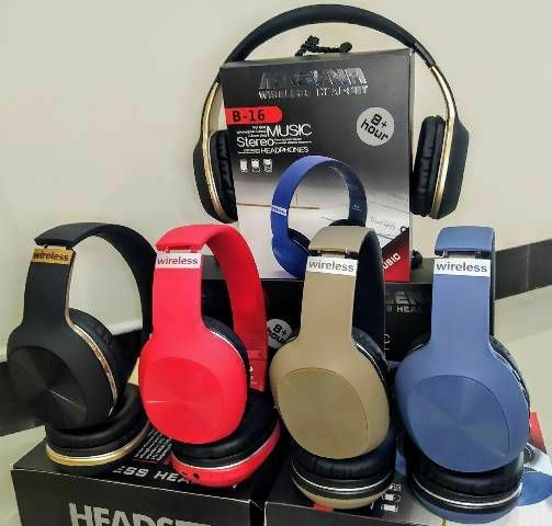 Fone Headset Music Stereo Wireless Fone De Ouvido Magena B16 - Foto 2