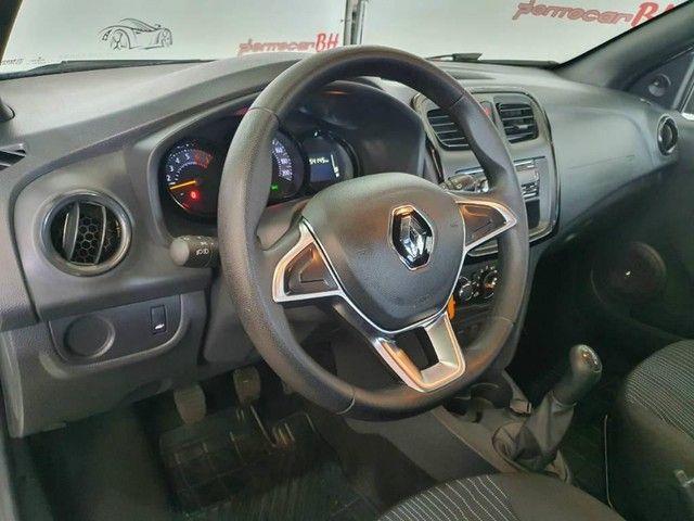 Renault Sandero LIFE FLEX 1.0 12V 5P MEC. 2020 - Foto 10