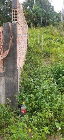 Vendo terreno com casa em construção  - Foto 6