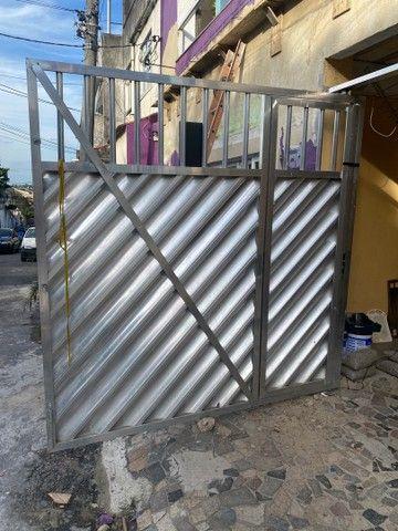 Portão de Garagem de  Alumínio  - Foto 2