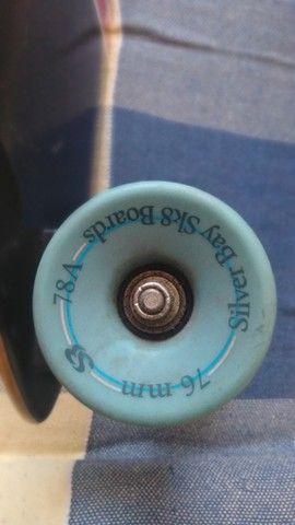 Skate Longboard semi novo - Foto 6
