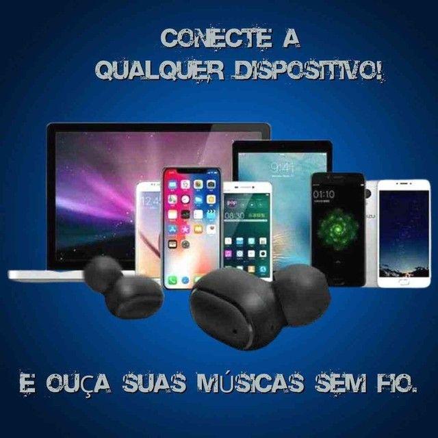 Fone Ouvido Digital True Esporte Bluetooth 5.0 E6s Tws - Foto 4