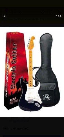 Guitarra Stratocaster Sx Sst 57 Canhoto Lh - Exclusividade - Foto 2