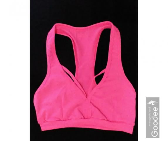 Top Cropped Feminino Fitness Academia