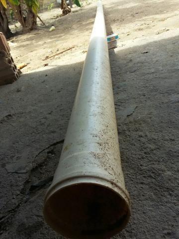 Cano PVC nunca usado