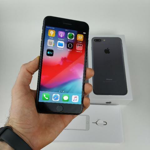 Iphone 7 PluS Preto 32GB!! Acessórios + Garantia - Foto 6