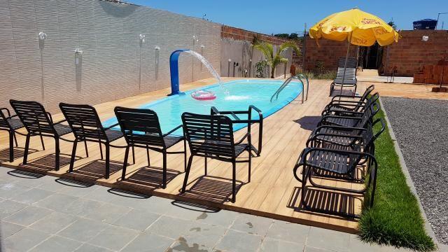 Alugo casa com piscina pra final de semana, em barra do Jacuípe, em condomínio fechado - Foto 4