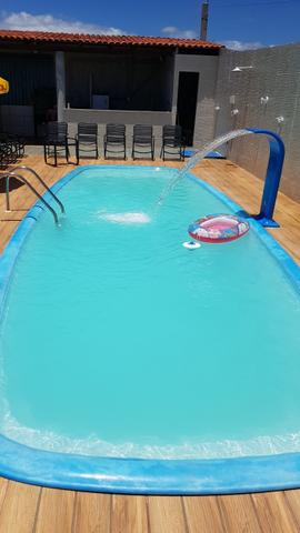 Alugo casa com piscina pra final de semana, em barra do Jacuípe, em condomínio fechado - Foto 10