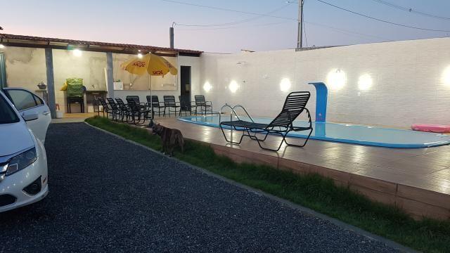 Alugo casa com piscina pra final de semana, em barra do Jacuípe, em condomínio fechado