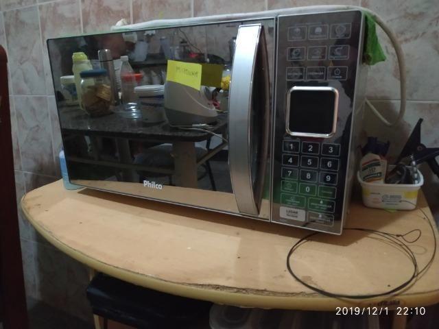 Microondas Philco Espelhado 25L - Foto 3