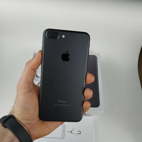 Iphone 7 PluS Preto 32GB!! Acessórios + Garantia