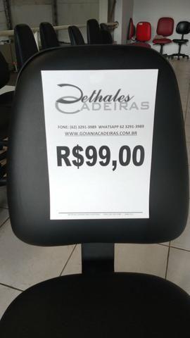 Cadeira Giratória $99 Back System - Foto 2