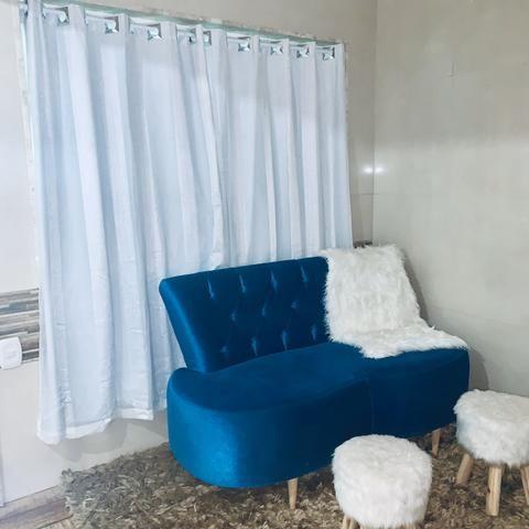 Sofá de Luxo Tok Stok de 2.499,90 Por 1.300,00 - Foto 3