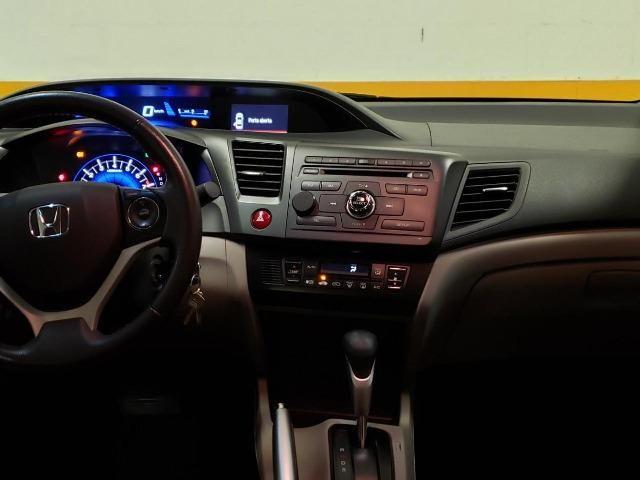 Vendo Honda Civic 2014/2015 LXR 2.0 Branco - Foto 5