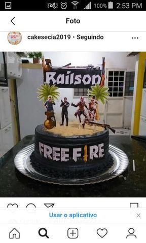 Confeitaria Cakesecia bolos para festa! - Foto 4