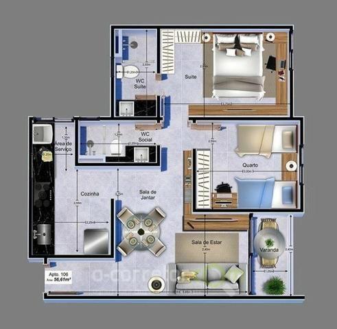 Apartamento para vender, Jardim Cidade Universitária, João Pessoa, PB. Código: 00788b - Foto 13