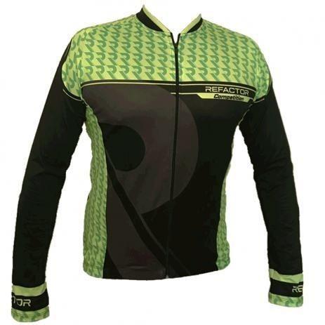 Camisa de ciclismo manga longa Refactor - Foto 2