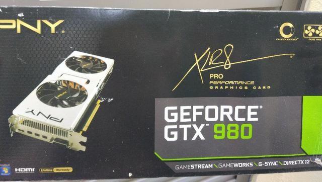 Placa de Vídeo GTX 980 4gb PNY Xlr8