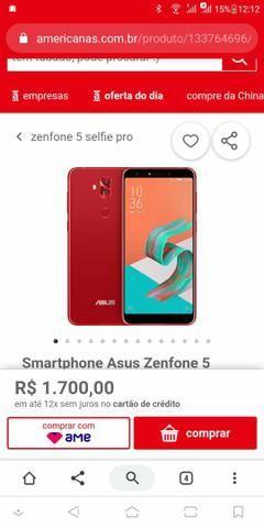 Smartphone Asus Zenfone 5 Selfie pró 64h - Foto 5