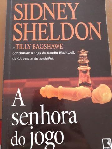 Livros Sidney Sheldon - Depois da Escuridão e A Senhora do Jogo