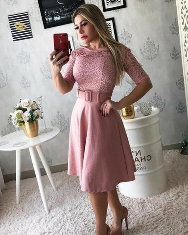 Vestido Rosê