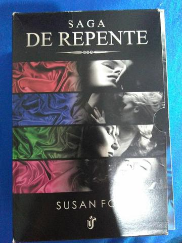 Kit 4 livros Saga De Repente de Susan Fox - Foto 2