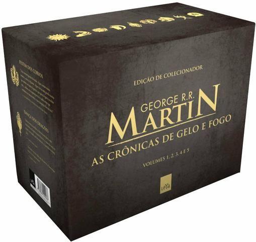 Box de colecionador Game of Thrones