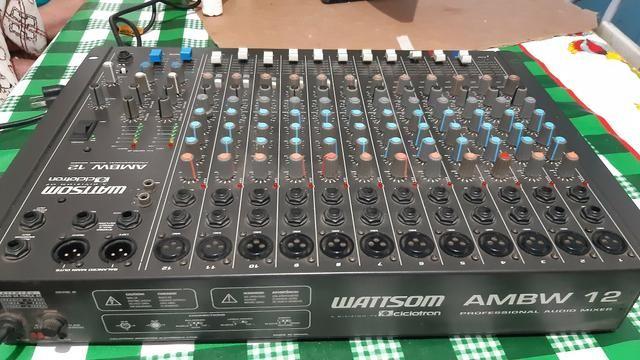 Mesa de som watisom ciclotrom 12 canais - Foto 3