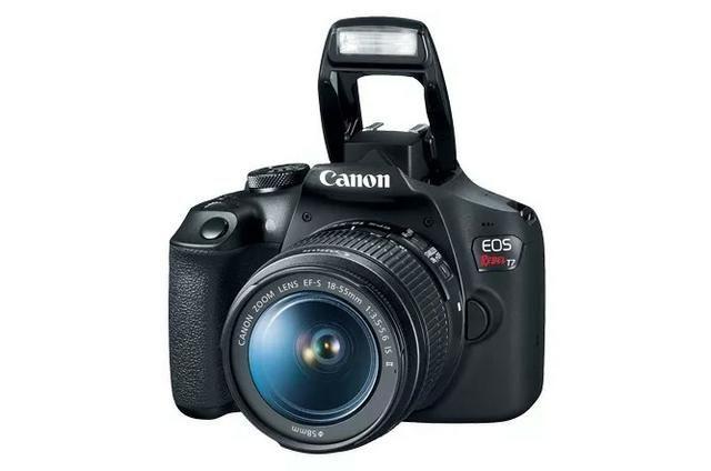 Câmera Profissional Canon T7 EOS Rebel
