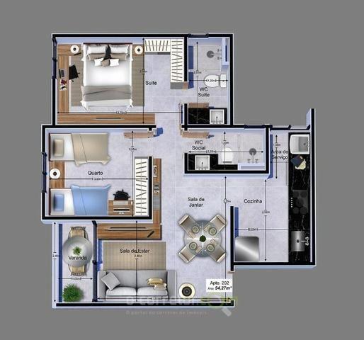 Apartamento para vender, Jardim Cidade Universitária, João Pessoa, PB. Código: 00788b - Foto 14