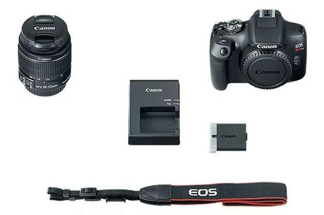 Câmera Profissional Canon T7 EOS Rebel - Foto 3